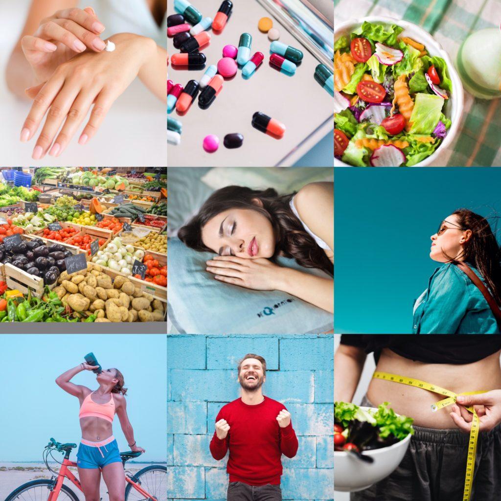Czynniki dla zdrowej skóry